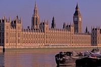 Parliament and Big Ben, London, England Fine-Art Print