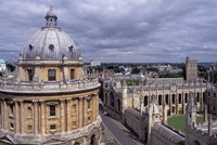 Radcliffe Camera and All Souls College, Oxford, England Fine-Art Print