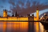 Houses of Parliament, Big Ben, London, England Fine-Art Print