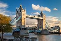 Tower Bridge from Tower of London, England Fine-Art Print