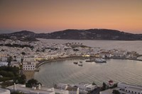 Just After Sunset, Hora, Mykonos, Greece Fine-Art Print