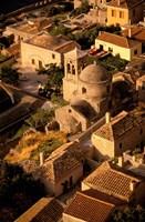 Town View from Cliffs, Monemvasia, Lakonia, Greece Fine-Art Print