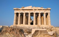 Parthenon, Ancient Architecture, Acropolis, Athens, Greece Fine-Art Print