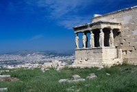 Porch of The Caryatids, Acropolis of Athens, Greece Fine-Art Print
