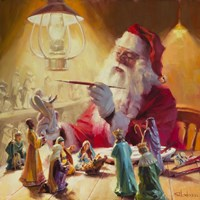 Santa More Than Toys Fine-Art Print