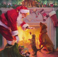 Santa Something For Everyone Fine-Art Print