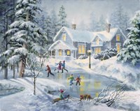 A Fine Winter's Eve Fine-Art Print
