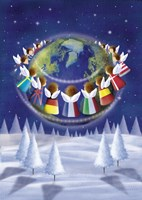 Holiday Angels Around the World Fine-Art Print