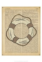 Nautical Series - Life Preserver Fine-Art Print