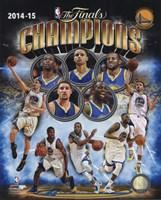 Golden State Warriors 2015 NBA Finals Champions Composite Fine-Art Print