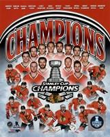 Chicago Blackhawks 2015 Stanley Cup Champions Composite Fine-Art Print