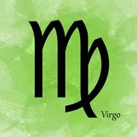 Virgo - Green Fine-Art Print