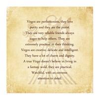 Virgo Character Traits Fine-Art Print