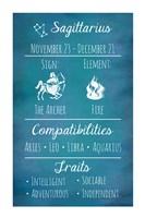 Sagittarius Zodiac Sign Fine-Art Print