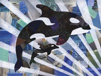 Killer Cute Whales Fine-Art Print