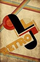 Vintage Retro Movement Fine-Art Print