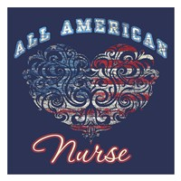 All American Nurse Fine-Art Print