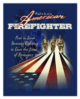 American Firefighters Fine-Art Print