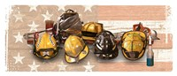 Firefighters Stand Tall Fine-Art Print