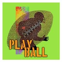 Play Ball Football Fine-Art Print