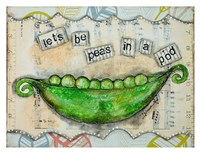 Let's Be Peas Fine-Art Print