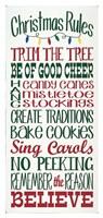 Christmas Rules Fine-Art Print