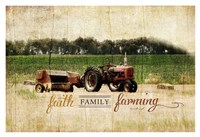 Faith Family Farming Fine-Art Print