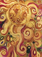 Sun Glowing Whimsy Fine-Art Print