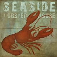 Seaside Lobster Jouse Fine-Art Print