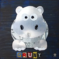 Grunt The Hippo Fine-Art Print