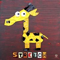 Stretch The Giraffe Fine-Art Print
