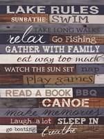 Lake Rules Fine-Art Print