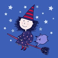 Lovely Little Witch Fine-Art Print