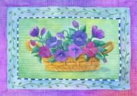 Pansy Basket Fine-Art Print