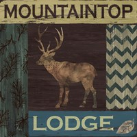 Mountain Lodge Fine-Art Print