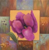 Purple Patchwork Fine-Art Print
