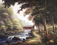 The Covered Bridge Fine-Art Print