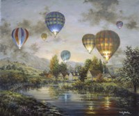 Balloon Glow Fine-Art Print