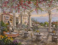 Dining On The Terrace Fine-Art Print