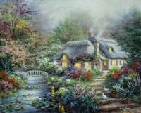 Little River Cottage Fine-Art Print