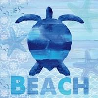Sea Glass Turtle Fine-Art Print