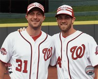 Max Scherzer & Bryce Harper 2015 MLB All-Star Game Fine-Art Print