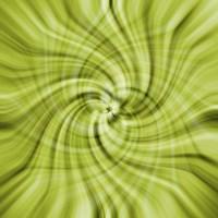 Lime Swirls Fine-Art Print