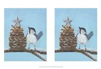 Chickadee Christmas II 2-Up Fine-Art Print