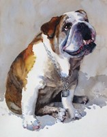 Major Wembly E. Bull Dog Fine-Art Print