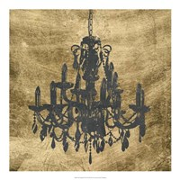 Gilt Chandelier VII Fine-Art Print