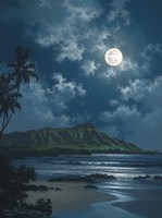 Waikiki Night Sky Fine-Art Print