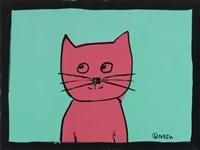 Pink Cat Fine-Art Print