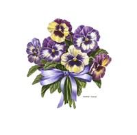 Pansy Bouquet Fine-Art Print