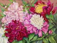 Cheryl's Peony Garden Fine-Art Print